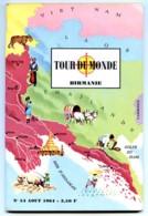 BIRMANIE 1964 J Tallandier Pays Peuples Revue TOUR DU MONDE - Géographie