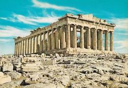 Grèce Athènes Le Parthénon (2 Scans) - Griechenland