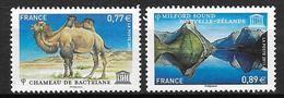 France 2011 Service N° 151/152 Neufs UNESCO à La Faciale - Servizio