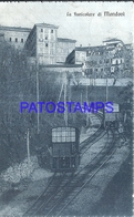 128549 ITALY MONDOVI CUNEO FUNICOLARE TRAIN CIRCULATED TO LUCCA POSTAL POSTCARD - Unclassified