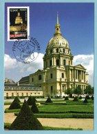 Carte Maximum 2006 - Portrait Des Régions - Les Invalides à Paris - YT 3946 - Paris - 2000-09