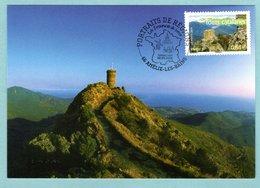 Carte Maximum 2006 - Portrait Des Régions - Tours Catalanes - YT 3942 - 66 Amélie Les Bains - 2000-09
