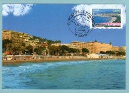 Carte Maximum 2006 - Portrait Des Régions - La Croisette à Cannes - YT 3943 - 06 Cannes - 2000-09