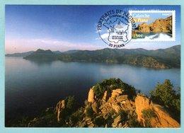 Carte Maximum 2006 - Portrait Des Régions - Calanche De Piana - YT  3951 - 20 Piana - 2000-09