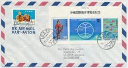 1977 - AIR MAIL - Sent From Japan To Switzerland - 1926-89 Emperor Hirohito (Showa Era)