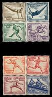 DEUTSCHES REICH 1936 Nr 624-631 Postfrisch VIERERBLOCK X6DD1F2 - Deutschland