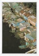 République Dominicaine Maisons Sur La Rivière Yaque Del Sur (2 Scans) - Dominicaine (République)