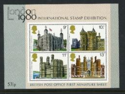 Great Britain 1980 Miniature Sheets MNH - 1952-.... (Elizabeth II)