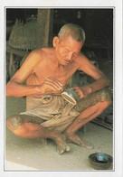 Birmanie Burma Pagan Artisan Laqueur (2 Scans) - Myanmar (Burma)