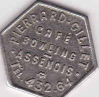 Jeton De Café ( Province De Luxembourg )Assenois - PIERRARD GILLET - Monedas / De Necesidad