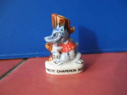Fève Loup Dans Le Petit Chaperon Rouge Série Contes De Notre Enfance ( Casino ) 2002 ¤ Fèves ¤ Rare Ancienne - Cartoons