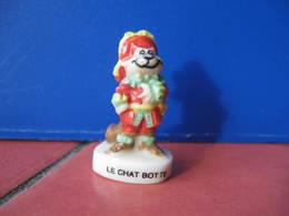 Fève Chat Botté Série Contes De Notre Enfance ( Casino ) 2002 ¤ Fèves ¤ Rare Ancienne - Cartoons