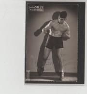 .BOXING.BOKSEN. PHOTO.Lansival   BOXEUR  J.C. SILLY   Manag. Jean Bretonnel    SIGNEE. AUTOGRAPHE - Boxing
