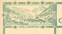 Carte Neuve Illustrée N° 115 - 008  KIPPEL Im LOTSCHENTHAL - Entiers Postaux