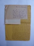 """AUTOGRAPHE REPUBLIQUE FRANCAISE INDOCHINE """"REQUETES"""" à M. Le RESIDENT  PREY-VENG 1941  CAMBODGE  JAN 2020 GERA  ALB - Autographes"""