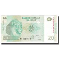Billet, Congo Republic, 20 Francs, 2003, 2003-06-30, NEUF - Republic Of Congo (Congo-Brazzaville)