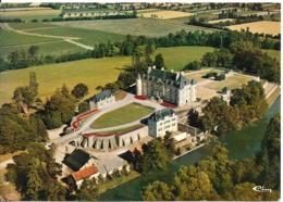 D35 - LA GOUESNIERE - LE CHÂTEAU DE BONNABAN-COLONIE DE VACANCES ST GOBAIN(barré Et Ajouté)APAS-VUE AERIENNE - Francia
