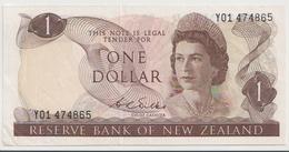NEW ZEALAND P. 163b 1 D 1969 VF - Nueva Zelandía