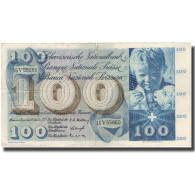 Billet, Suisse, 100 Franken, 1957, 1957-10-04, KM:49b, TB - Schweiz