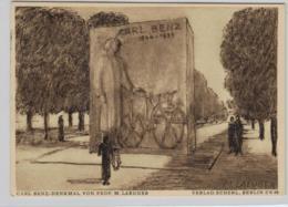DR.- PP Ganzsache-  Carl Benz ....  ...   (ko3655   ) Siehe Scan - Allemagne
