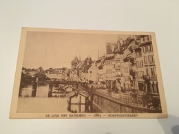 CH - 800 - Le Strasbourg Disparu - Le Quai Des Bateliers 1869 - Strasbourg