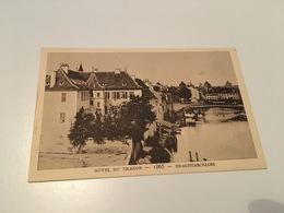 CH - 800 - Le Strasbourg Disparu - Hôtel Du Dragon 1865 - Strasbourg