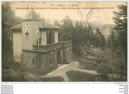 21 FIXIN. Maison De Napoléon. Reproduction De Sa Prison à Sainte-Hélène 1924 - Autres Communes