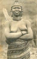 Afrique Occidentale - Fille Foulah - Seins Nus - Postales