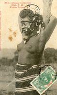 Afrique Occidentale - Fille Foulah - Etude 47 - Seins Nus - Postales