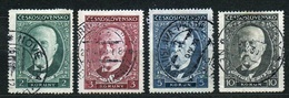 1930 Michel: 299-302 - Used - Usados