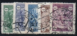 1929 Michel: 283-287 - Used - Usados