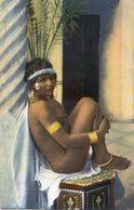 Algérie - Prostituée? - Jeune Fille Aux Seins Nus - Sri Lanka (Ceylon)