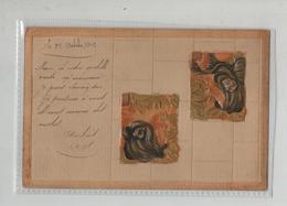 Précurseur 1905 Illustrateur écrite à Camille Vallorge Couturière à Thizy Rhône - Künstlerkarten