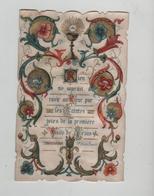 Image Religieuse Rien Ne Saurait Souvenir Communion Leroux Orival 1896 - Andachtsbilder