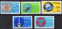 FRANCE N** 2126 A 2130 MNH - Unused Stamps