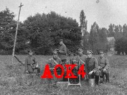 MG 08 Maschinengewehr IR RIR 13 1917 Querndt Poggenklas Nordfrankreich Champagne - Guerre 1914-18