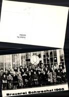 645994,Reklame AK Brauerei Bier Schwechat Wien Schwechater 1965 - Werbepostkarten