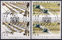 UNO WIEN 1984 Mi-Nr. 39/40 2er O Used - Aus Abo - Wien - Internationales Zentrum