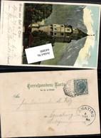 645890,Stempel Kufstein N. Egmating Gruss Aus Hall Münzturm - Ohne Zuordnung