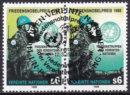 UNO WIEN 1989 Mi-Nr. 91 2er O Used - Aus Abo - Centre International De Vienne