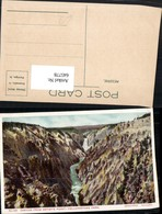 645778,Yellowstone Park Canyon Artists Point Pub Haynes Photo - Ohne Zuordnung