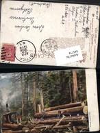 645774,Künstler AK Steam Lumbering Holzfäller Dampfmaschine Pub R. Tuck 2205 - Ohne Zuordnung