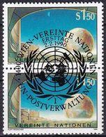 UNO WIEN 1990 Mi-Nr. 99 2er O Used - Aus Abo - Wien - Internationales Zentrum