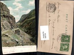 645724,Yellowstone Park Golden Gate Canyon Viaduct Viadukt Brücke Pub Haynes Photo - Ohne Zuordnung