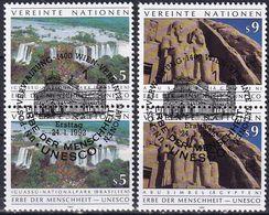 UNO WIEN 1992 Mi-Nr. 125/26 2er O Used - Aus Abo - Wien - Internationales Zentrum