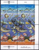 UNO WIEN 1992 Mi-Nr. 127/28 2er O Used - Aus Abo - Wien - Internationales Zentrum