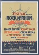 = Carte Postale La Poste - Saint Pierre Et Miquelon 1er Festival RockN'Rhum Août 2015 Neuve Tirage Limité 45/1200 - St.Pierre & Miquelon
