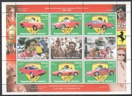 E008 1998 DE GUINEE GUINEA CARS ENZO FERRARI FORMULA 1 1KB MNH - Cars