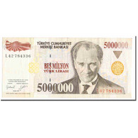 Billet, Turquie, 5,000,000 Lira, 1997, 1997, KM:210, TTB - Turquia