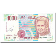 Billet, Italie, 1000 Lire, 1990-1994, KM:114b, SUP - [ 2] 1946-… : République
